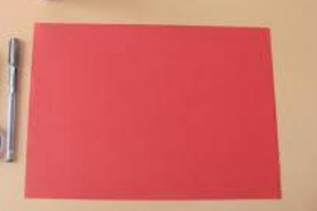 рисуем на цветной бумаге