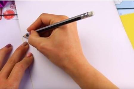рисуем простым карандашом
