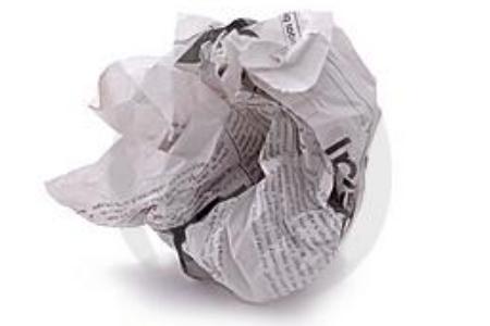 свойства бумаги мятая