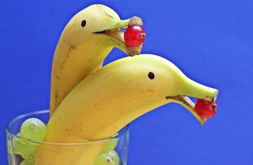 поделки с детьми из бананов