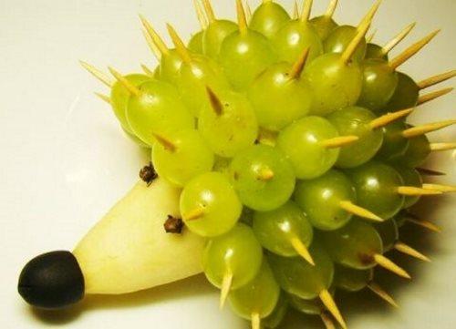Виноградный ежик