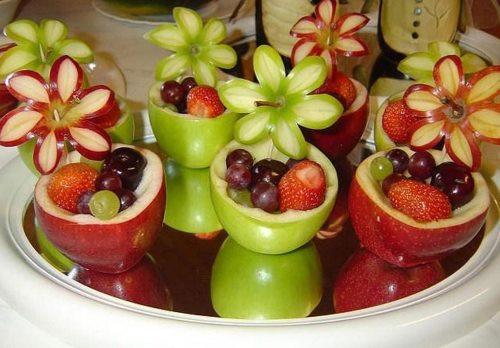 поделки для садика из фруктов