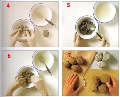 подготовка массы к лепке