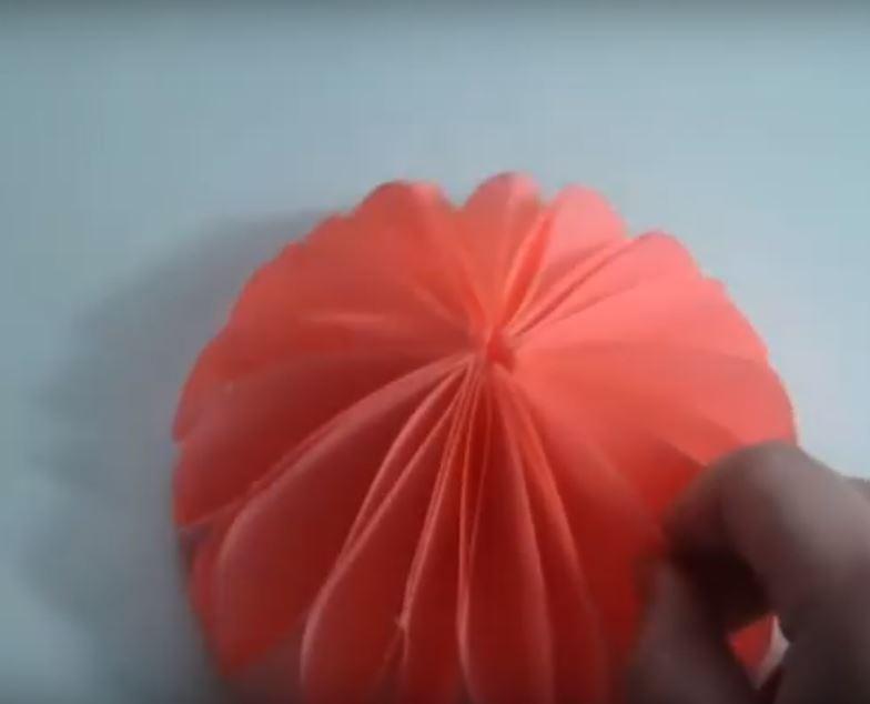 Поделка Объемный Зонтик, зонт готов