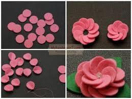 как сделать цветок из кругов