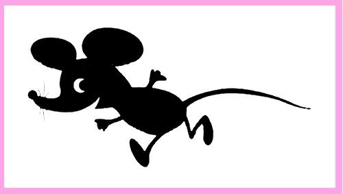 новогодние трафареты крыса