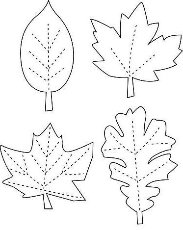 украшение для волос осенние листья