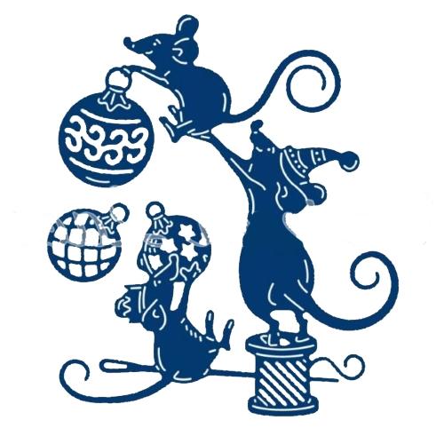 Трафареты Крысы-Мыши.поделка на окна