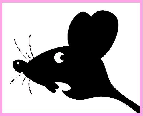 Трафареты Крысы-Мыши.новый год 2020 крыса