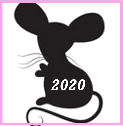 Трафареты Крысы-Мыши.для украшения окон