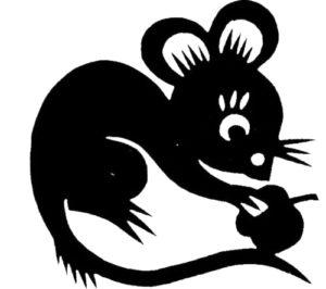 Трафареты Крысы-Мыши.