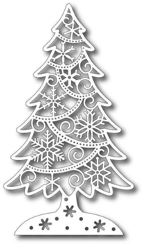 елочка новогодняя (трафареты)