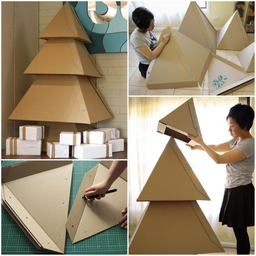 елочка пирамидка