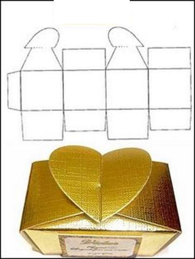 Как упаковать новогодний подарок (Своими руками 2020) сердце