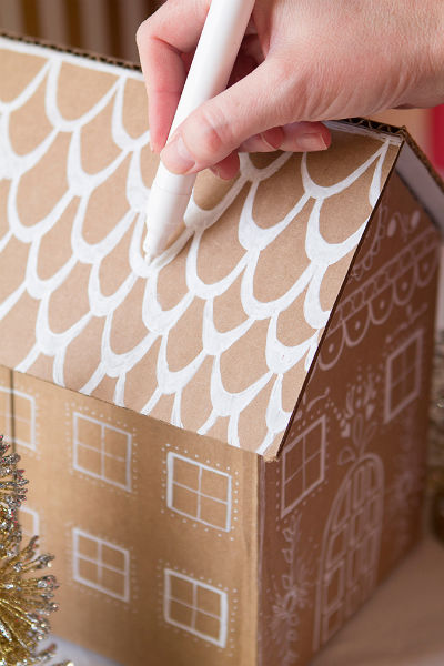 Как упаковать новогодний подарок (Своими руками 2020) прокраска