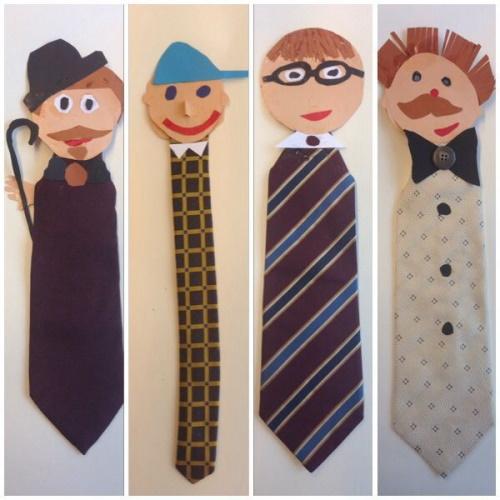 Веселые галстуки закладки