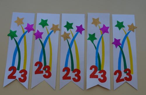 Погоны из бумаги праздничные