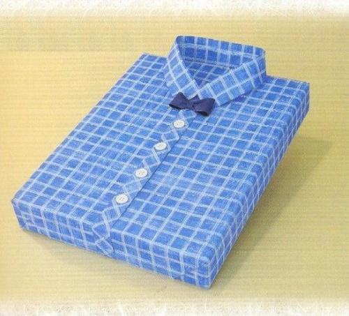 Рубашка с бантиком. Упаковка