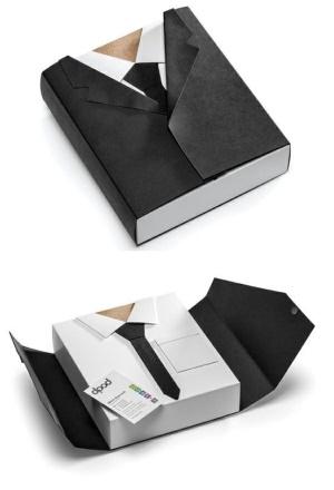 Коробка в виде рубашки