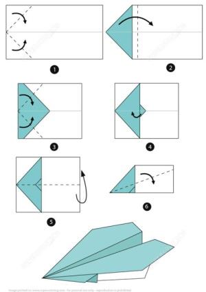 Оригами простое исполнение